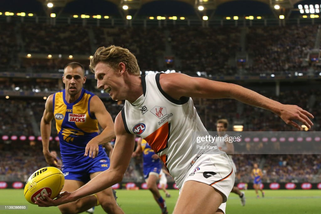 AFL Rd 2 - West Coast v GWS : News Photo