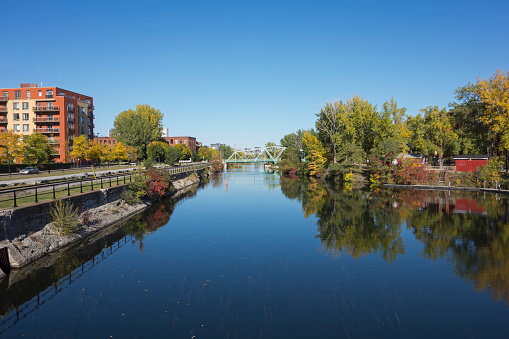 Lachine Canal in Montreal 614531846