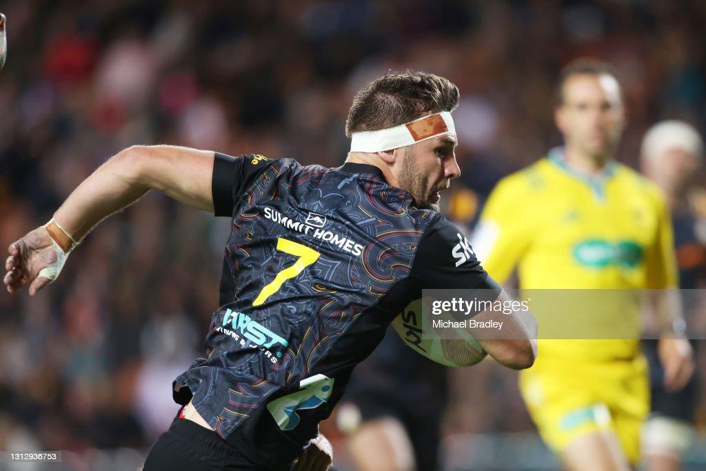 Super Rugby Aotearoa Rd 8 - Chiefs v Crusaders : News Photo