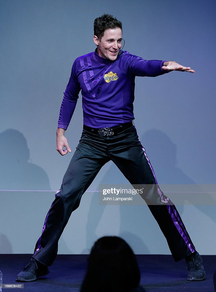 Lachlan Gillespie of the Wiggles performs at the Apple Store Soho on May 12, 2013 in New York City.