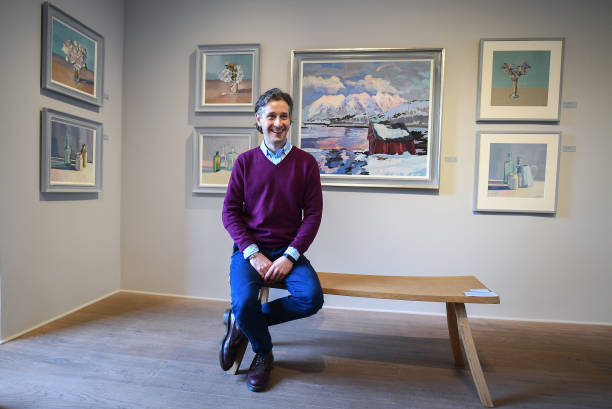 GBR: Artist Lachlan Goudie Shares Artwork Made During Lockdown At Once Upon A Time Exhibition