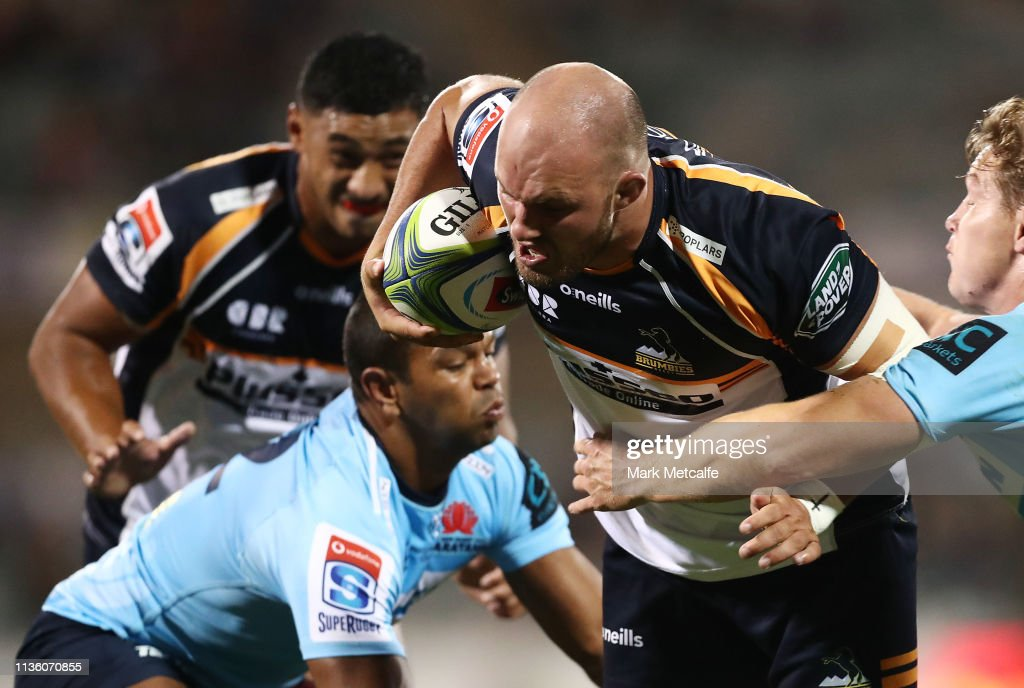 Super Rugby Rd 5 - Brumbies v Waratahs : News Photo