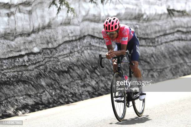 Lachlan Morton of Australia and Team EF Education First / competes during the 14th Amgen Tour of California 2019 Stage 2 a 2145km stage from Rancho...