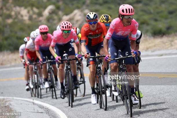 Lachlan Morton of Australia and Team EF Education First / during the 14th Amgen Tour of California 2019 Stage 7 a 126km stage from Santa Clarita to...