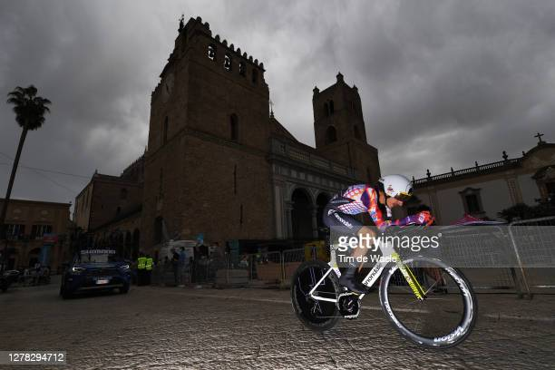Lachlan Morton of Australia and Team EF Pro Cycling / Duomo di Monreale / Monte Caputo / Cathedral / during the 103rd Giro d'Italia 2020, Stage 1 a...