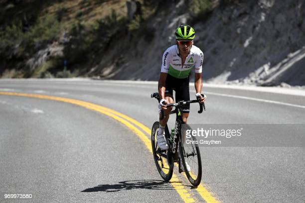 Lachlan Morton of Australia riding for Team Dimension Data rides during stage six of the 13th Amgen Tour of California a 1965km stage from Folsom to...