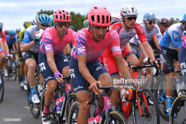 Lachlan Morton of Australia Team EF Pro Cycling / during the 6th Cadel Evans Great Ocean Road Race 2020, Elite Men's Race a 171km race from Geelong...