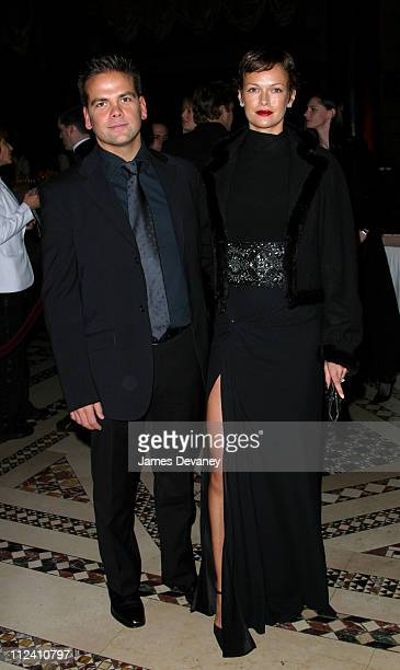 Lachlan Murdoch and Sarah Murdoch during American Australian Association Benefit Dinner 2002 at Ciapriani in New York City New York United States