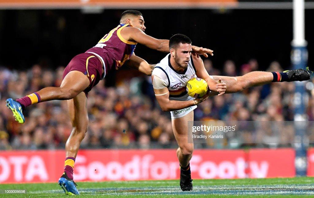 AFL Rd 18 - Brisbane v Adelaide