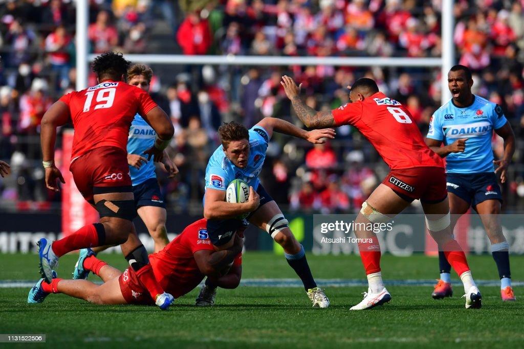 JPN: Super Rugby Rd 2 - Sunwolves v Waratahs