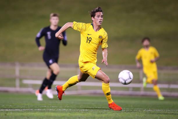 AUS: Australia U23 v New Zealand U23