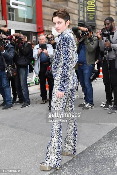 Lachlan Wartson attends the Giambattista Valli Womenswear Spring/Summer 2020 show as part of Paris Fashion Week on September 30 2019 in Paris France