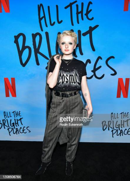 Lachlan Watson attends a Special Screening of Netflix's All The Bright Places at ArcLight Hollywood on February 24 2020 in Hollywood California