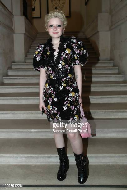 Lachlan Watson attends the Giambattista Valli show as part of the Paris Fashion Week Womenswear Fall/Winter 2020/2021 on March 02 2020 in Paris France