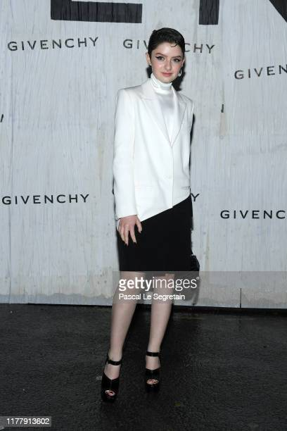 Lachlan Watson attends the Givenchy Womenswear Spring/Summer 2020 show as part of Paris Fashion Week on September 29 2019 in Paris France