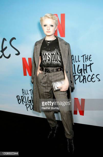 Lachlan Watson attends the Netflix Premiere of All the Bright Places on February 24 2020 in Hollywood California