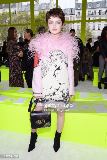 Lachlan Watson attends the Valentino Womenswear Spring/Summer 2020 show as part of Paris Fashion Week on September 29 2019 in Paris France