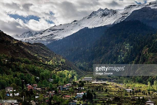 Lachung, Himalayan Kanchenjunga region, Sikkim, India