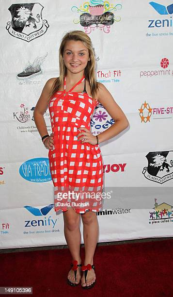 Laci Kay attends the Shoe Crew Charity Event on July 22 2012 in Simi Valley California