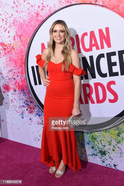 Laci Meeks attends the 2nd Annual American Influencer Awards at Dolby Theatre on November 18 2019 in Hollywood California
