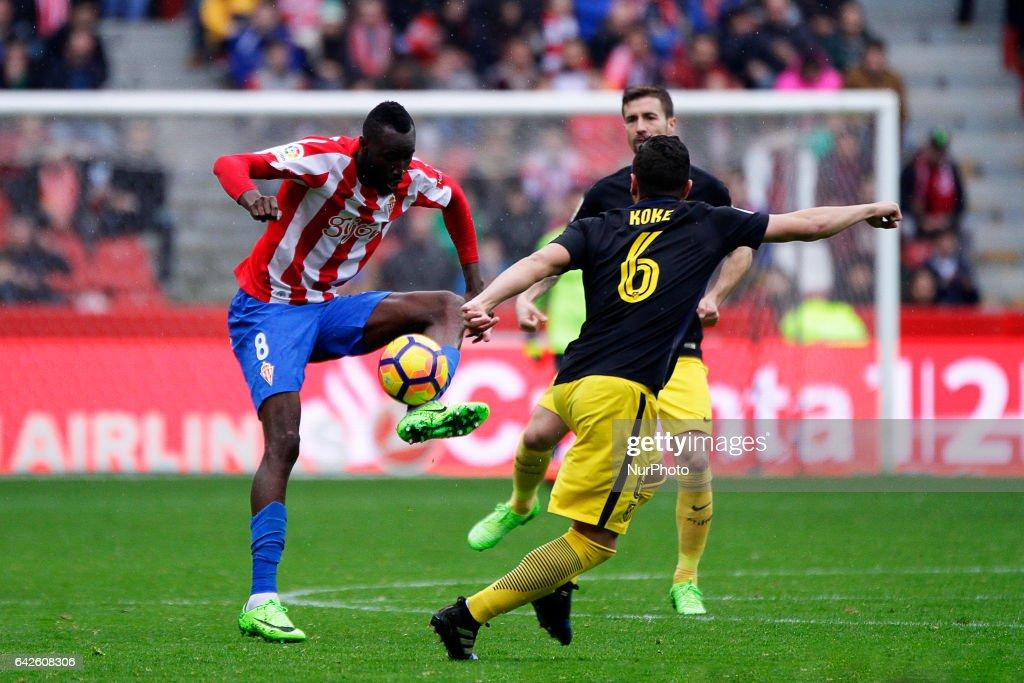 Real Sporting de Gijon v Club Atletico de Madrid - La Liga