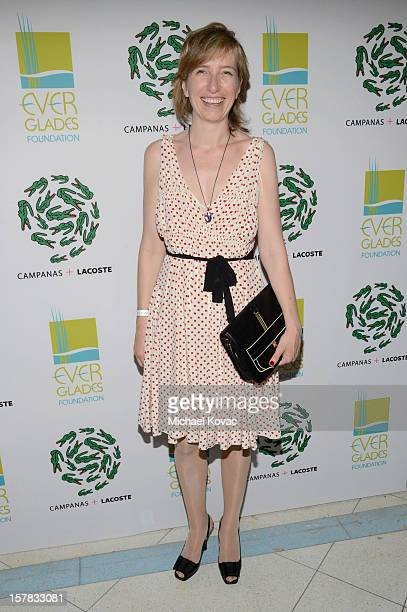 Lacoste executive president Sophie Lacoste Dournel attends a LACOSTE + CAMPANAS Celebration during Art Basel Miami Beach at Soho Beach House on...