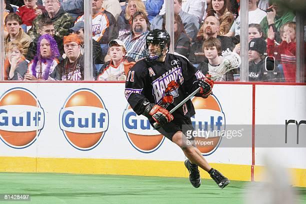 Buffalo Bandits John Tavares in action during game Buffalo NY 1/1/20065/15/2006