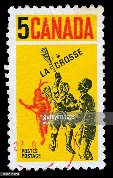 Lacrosse Postage Stamp, Canada