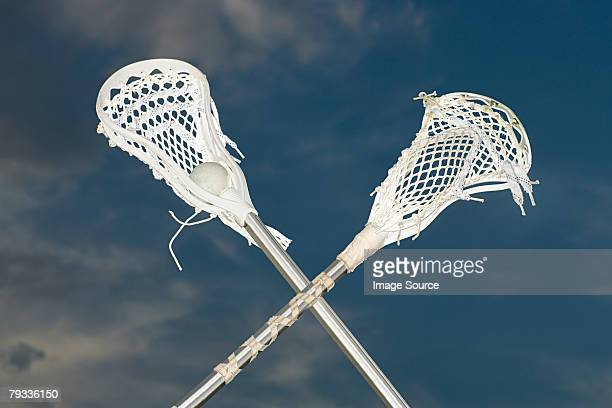lacrosse sticks - lacrosse stock pictures, royalty-free photos & images