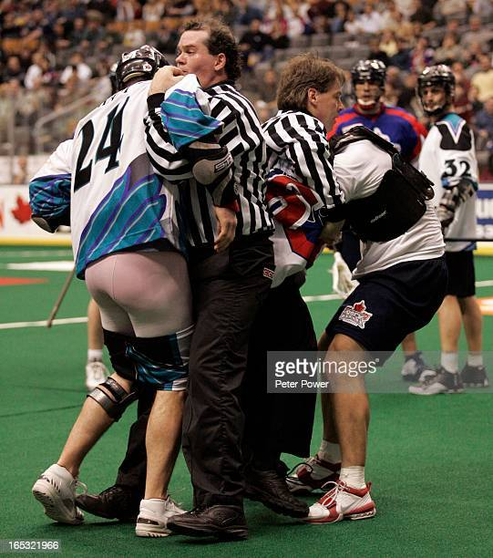 The Rochester Knighthawks may have beaten the pants off the Toronto Rock 156 in the game at the Air Canada Centre on Friday night but Rock player...