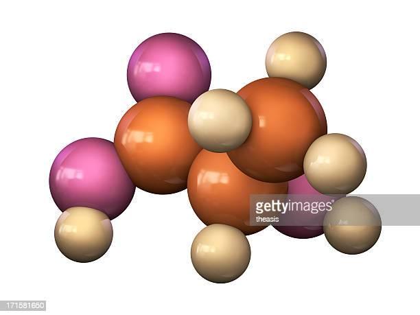 ácido láctico molécula - theasis fotografías e imágenes de stock