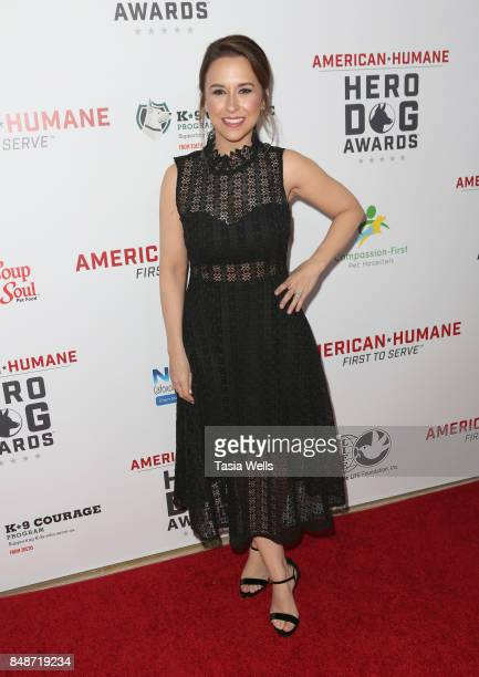 Lacy Chabert at the 7th Annual American Humane Association Hero Dog Awards at The Beverly Hilton Hotel on September 16 2017 in Beverly Hills...