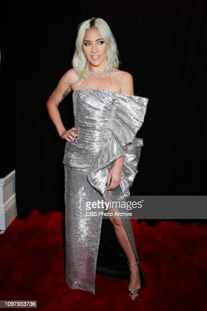 Lada Gaga attends THE 61ST ANNUAL GRAMMY AWARDS broadcast live from the STAPLES Center in Los Angeles Sunday Feb 10 on the CBS Television Network