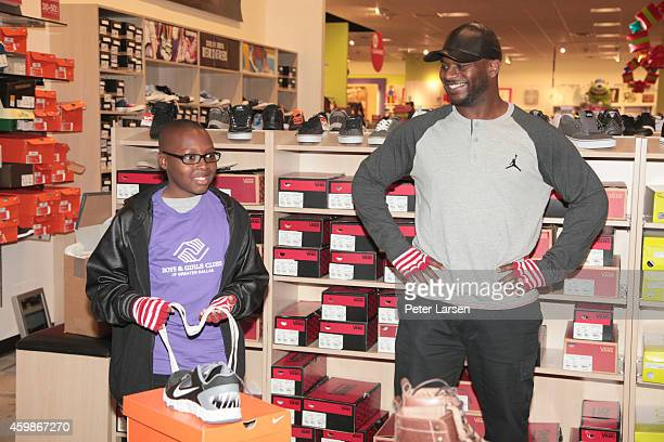 LaDainian Tomlinson at JCPenney Holiday Event with the Boys Girls Club on December 2 2014 in Dallas Texas