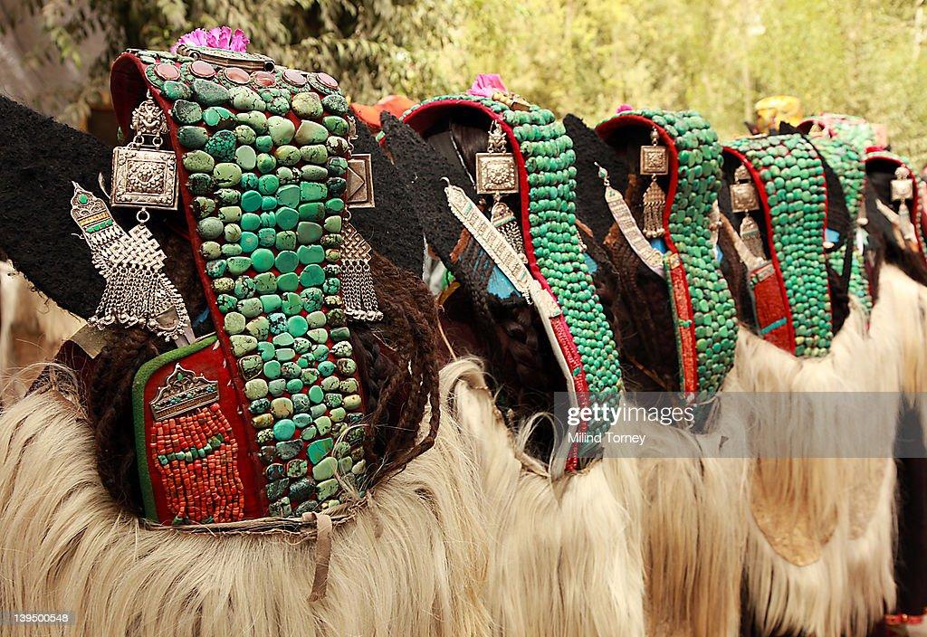 Ladakh festival : Stock Photo