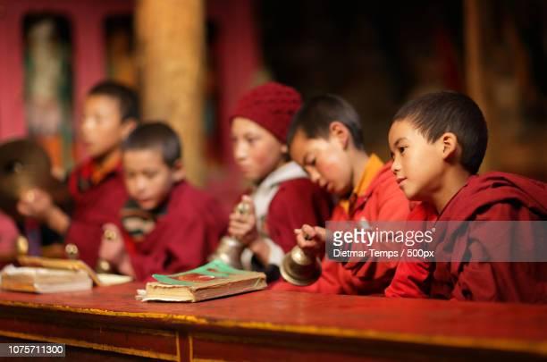 ladakh, lamayuru monastery - dietmar temps ストックフォトと画像