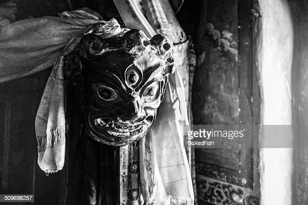Ladakhi religious mask.