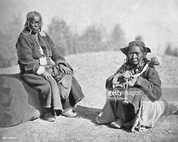 Ladakhi women of Tibetan stock 1902 From The Living Races of Mankind Vol I [Hutchinson Co London 1902] Artist Bourne Shepherd