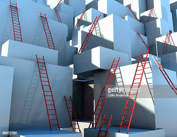 ladder leading to freedom