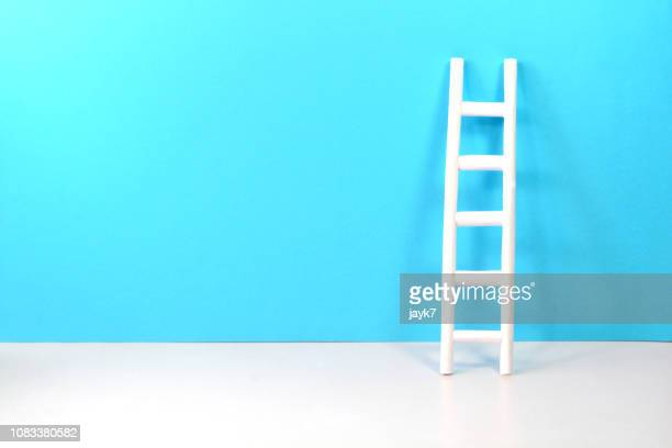 ladder - ladder of success stock pictures, royalty-free photos & images