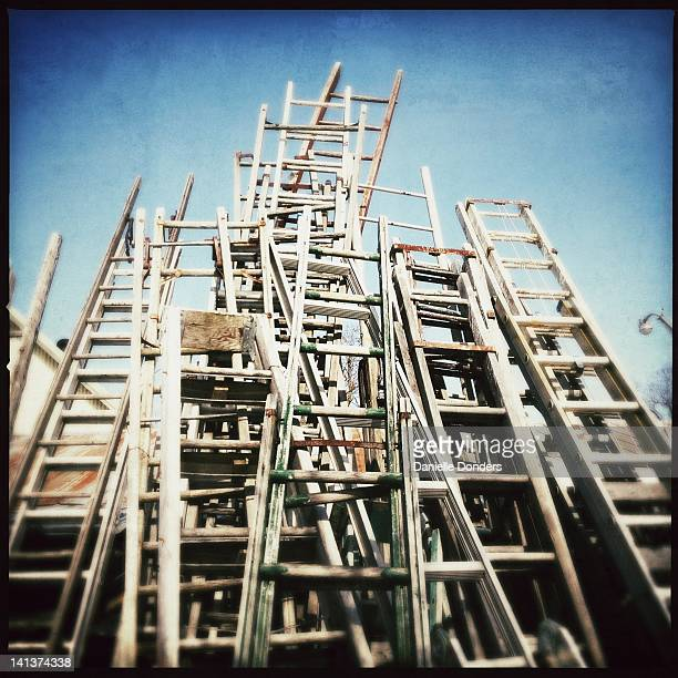 """ladders - """"danielle donders"""" stock pictures, royalty-free photos & images"""