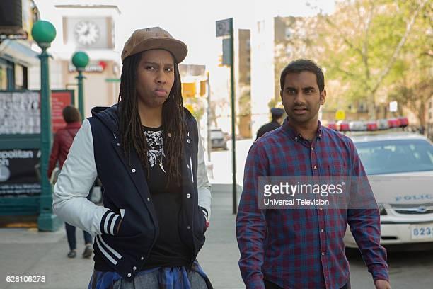 NONE 'Ladies and Gentlemen' Episode 107 Pictured Lena Waithe as Denise Aziz Ansari as Dev