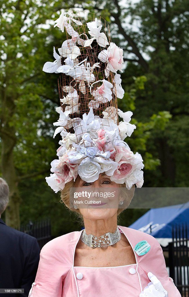 Ladies Attend Day One Of The Royal Ascot Races. Ascot, Berkshire.