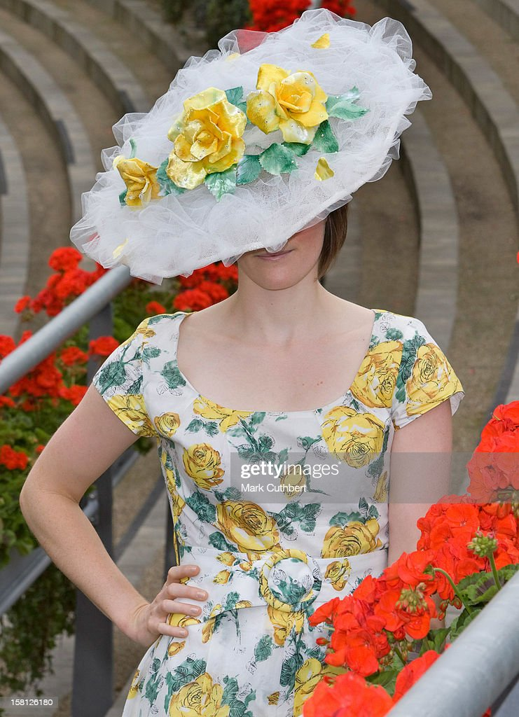 Ladies Attend Day One Of The Royal Ascot Races, Ascot, Berkshire.