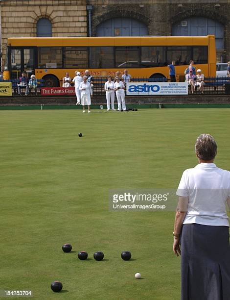 Ladies Bowls, Great Yarmouth. Norfolk, UK.