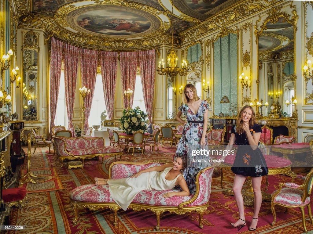 Manners Sisters, Vanity Fair, December 2017 : News Photo