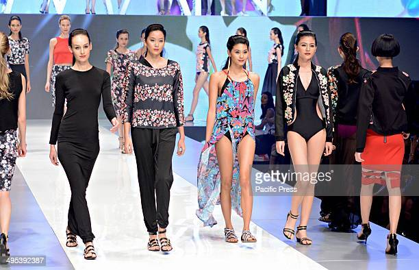 Ladies fashion opens the Philippine Fashion Week as tall and gorgeous women strutted the runway as they showcase the newest fashion wear in town held...