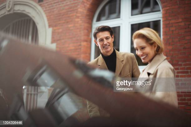 ladies first - georgijevic frankfurt stock pictures, royalty-free photos & images