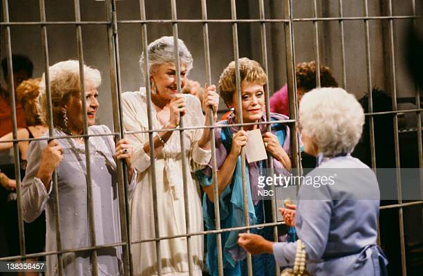 GIRLS Ladies of the Evening Episode 2 Pictured Betty White as Rose Nylund Bea Arthur as Dorothy Petrillo Zbornak Rue McClanahan as Blanche Devereaux...