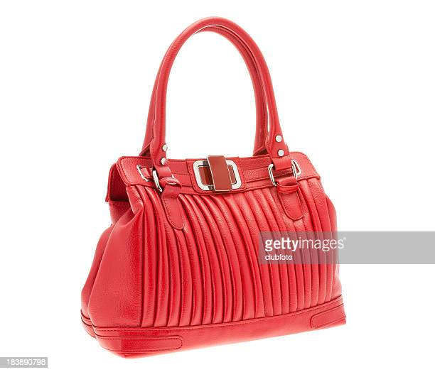 Ladies red handbag